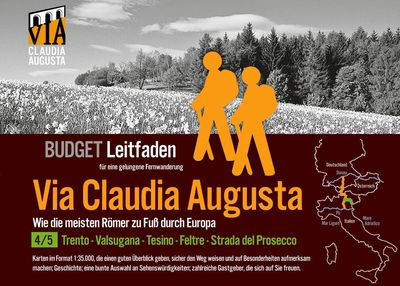 Fern-Wander-Route Via Claudia Augusta 4/5 Altinate Budget