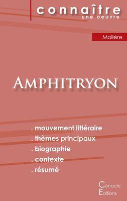Fiche de lecture Amphitryon de Molière (Analyse littéraire de référence et résumé complet)