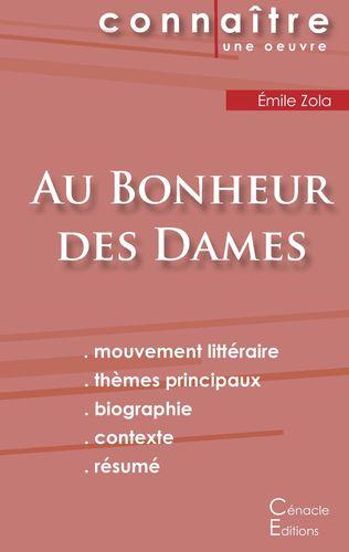Fiche de lecture Au Bonheur des Dames (Analyse littéraire de référence et résumé complet)