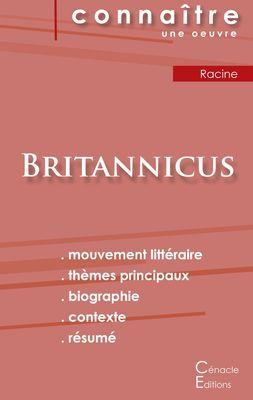 Fiche de lecture Britannicus de Racine (Analyse littéraire de référence et résumé complet)