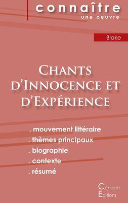 Fiche de lecture Chants d'Innocence et d'Expérience (analyse littéraire de référence et résumé complet)