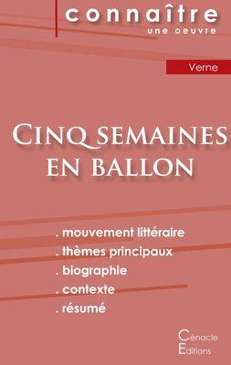 Fiche de lecture Cinq semaines en ballon de Jules Verne (Analyse littéraire de référence et résumé complet)