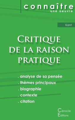 Fiche de lecture Critique de la raison pratique de Kant (Analyse philosophique de référence et résumé complet)