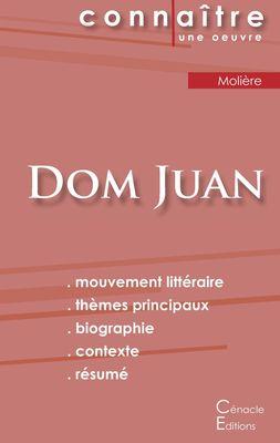 Fiche de lecture Dom Juan de Molière (complète)