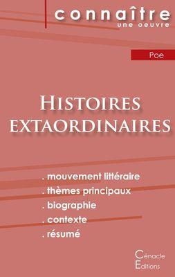 Fiche de lecture Histoires extraordinaires de Poe (Analyse littéraire de référence et résumé complet)