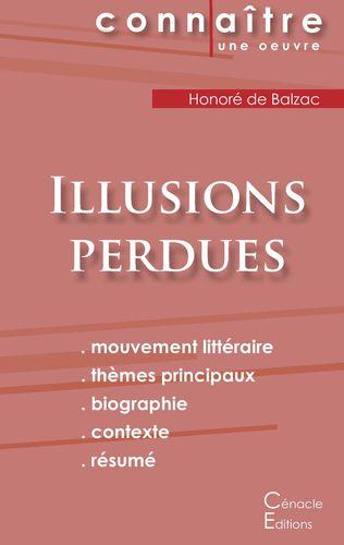 Fiche de lecture Illusions perdues de Balzac (analyse complète)