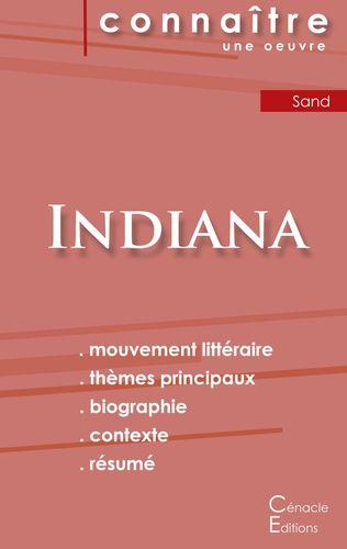 Fiche de lecture Indiana de George Sand (Analyse littéraire de référence et résumé complet)