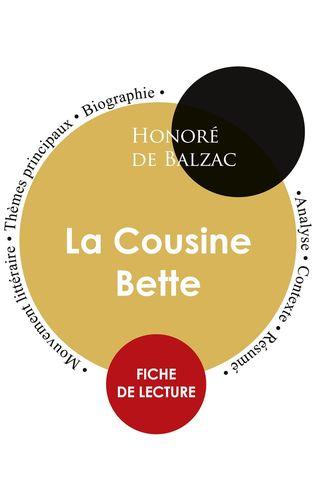 Fiche de lecture La Cousine Bette (Étude intégrale)