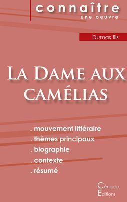 Fiche de lecture La Dame aux camélias de Dumas fils (Analyse littéraire de référence et résumé complet)