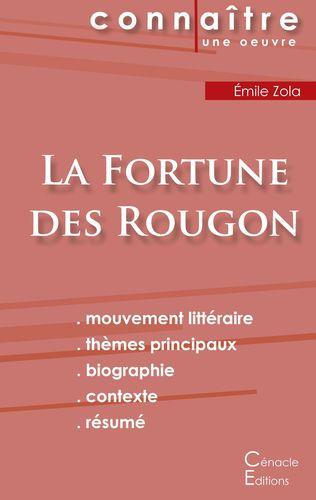Fiche de lecture La Fortune des Rougon de Émile Zola (Analyse littéraire de référence et résumé complet)