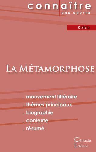 Fiche de lecture La Métamorphose de Kafka (Analyse littéraire de référence et résumé complet)