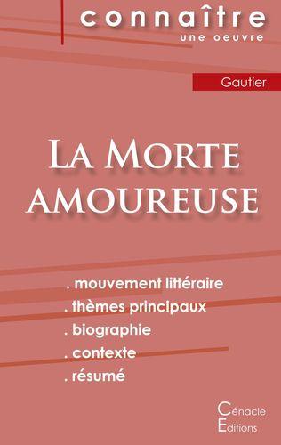 Fiche de lecture La Morte amoureuse de Théophile Gautier (Analyse littéraire de référence et résumé complet)