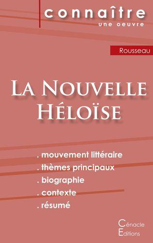 Fiche de lecture La Nouvelle Héloïse de Jean-Jacques Rousseau (Analyse littéraire de référence et résumé complet)
