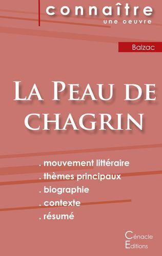 Fiche de lecture La Peau de chagrin de Balzac (Analyse littéraire de référence et résumé complet)