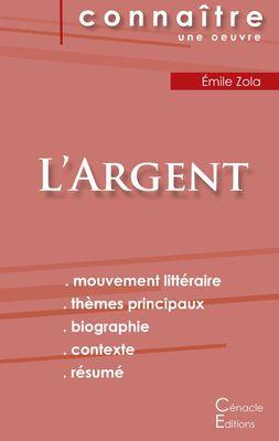Fiche de lecture L'Argent de Émile Zola (Analyse littéraire de référence et résumé complet)