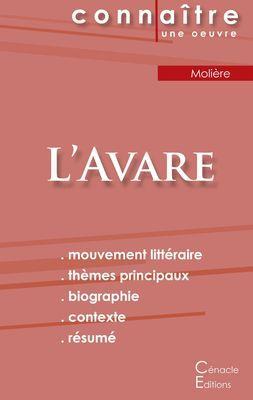 Fiche de lecture L'Avare de Molière (analyse littéraire de référence et résumé complet)