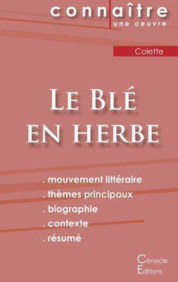 Fiche de lecture Le Blé en herbe de Colette (analyse complète)