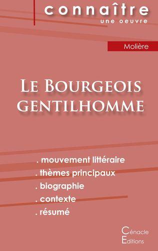 Fiche de lecture Le Bourgeois gentilhomme de Molière (Analyse littéraire de référence et résumé complet)