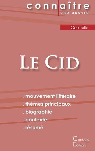 Fiche de lecture Le Cid (Analyse littéraire de référence et résumé complet)