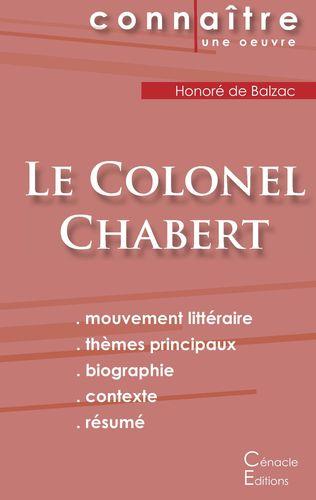 Fiche de lecture Le Colonel Chabert (Analyse littéraire de référence et résumé complet)