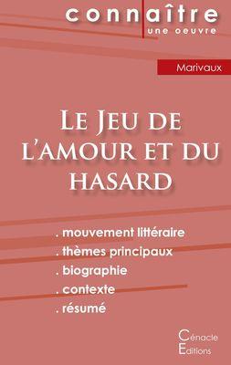 Fiche de lecture Le Jeu de l'amour et du hasard de Marivaux (analyse littéraire de référence et résumé complet)