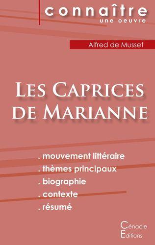 Fiche de lecture Les Caprices de Marianne de Musset (Analyse littéraire de référence et résumé complet)