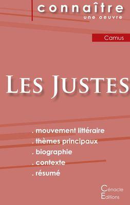 Fiche de lecture Les Justes (Analyse littéraire de référence et résumé complet)