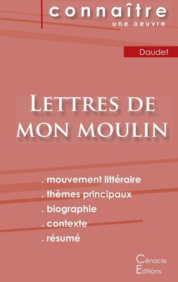 Fiche de lecture Lettres de mon moulin de Alphonse Daudet (Analyse littéraire de référence et résumé complet)