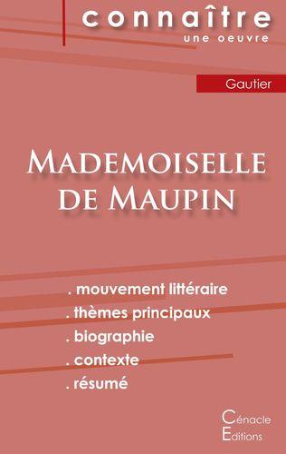 Fiche de lecture Mademoiselle de Maupin de Théophile Gautier (Analyse littéraire de référence et résumé complet)
