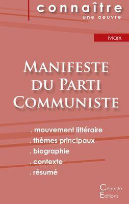 Fiche de lecture Manifeste du Parti Communiste de Karl Marx (analyse philosophique de référence et résumé complet)