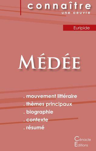 Fiche de lecture Médée de Euripide (Analyse littéraire de référence et résumé complet)