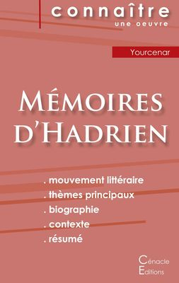 Fiche de lecture Mémoires d'Hadrien de Marguerite Yourcenar (Analyse littéraire de référence et résumé complet)