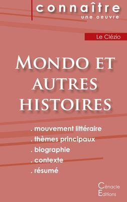 Fiche de lecture Mondo et autres histoires de Le Clézio (analyse littéraire de référence et résumé complet)