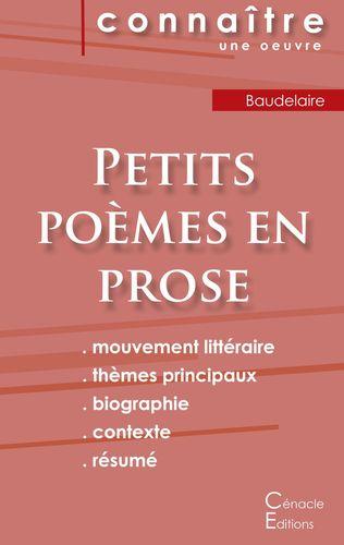 Fiche De Lecture Petits Poèmes En Prose De Baudelaire Analyse Littéraire De Référence Et Résumé Complet