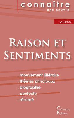 Fiche de lecture Raison et Sentiments de Jane Austen (Analyse littéraire de référence et résumé complet)