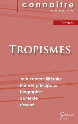 Fiche de lecture Tropismes de Nathalie Sarraute (Analyse littéraire de référence et résumé complet)
