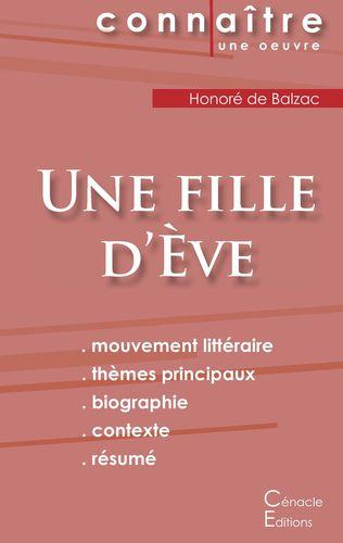 Fiche de lecture Une fille d'Ève (Analyse littéraire de référence et résumé complet)