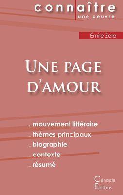 Fiche de lecture Une page d'amour (Analyse littéraire de référence et résumé complet)