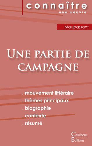 Fiche de lecture Une partie de campagne de Guy de Maupassant (Analyse littéraire de référence et résumé complet)