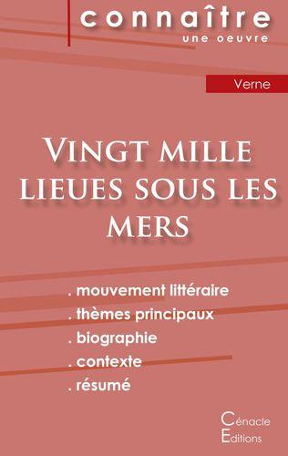 Fiche de lecture Vingt mille lieues sous les mers de Jules Verne (Analyse littéraire de référence et résumé complet)