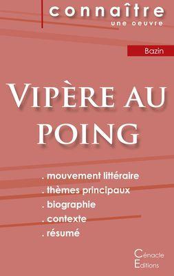 Fiche de lecture Vipère au poing de Hervé Bazin (Analyse littéraire de référence et résumé complet)