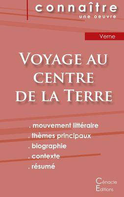 Fiche de lecture Voyage au centre de la Terre de Jules Verne (Analyse littéraire de référence et résumé complet)