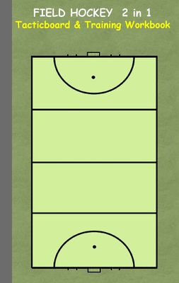 Field Hockey 2 in 1 Tacticboard and Training Workbook