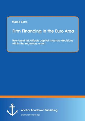 Firm Financing in the Euro Area: How asset risk affects capital structure decisions within the monetary union