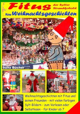 Fitus, der Sylter Strandkobold - Meine Weihnachtsgeschichten mit vielen farbigen Bildern