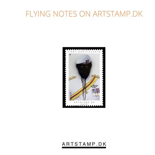 Flying Notes On Artstamp.dk