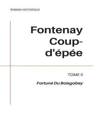 Fontenay Coup-d'épée