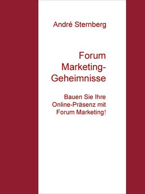 Forum Marketing-Geheimnisse