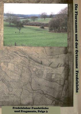 Fredelsloher Fundstücke und Fragmente Folge 3