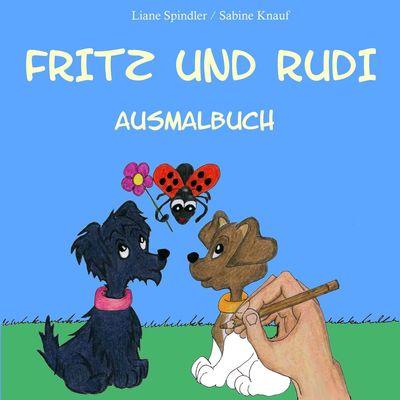 Fritz und Rudi Ausmalbuch